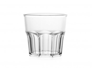 bicchiere pla trasparente san antiurto