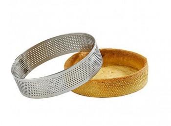 anello microforato acciaio inox