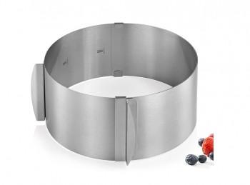 anello per torte tondo regolabile kuchenprofi