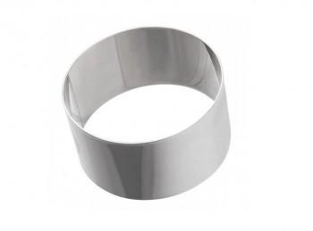 anello coppa pasta tondo in acciaio inox