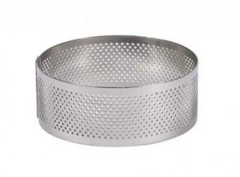 anello coppa pasta microforato acciaio inox