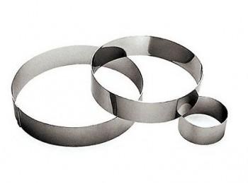 anello disco per torta mousse semifreddo acciaio inox
