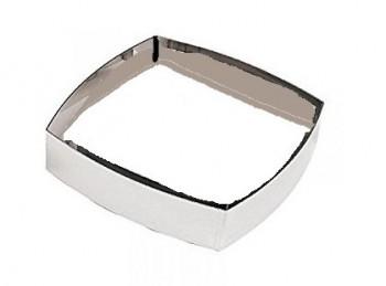 anello per torta mousse semifreddo quadrato bombato paderno