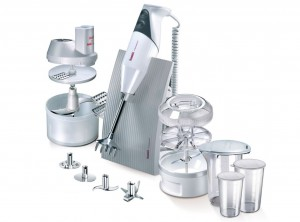 set robot mixer cucina bamix super box con accessori