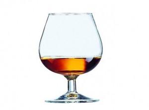 bicchiere cognac vetro arcoroc