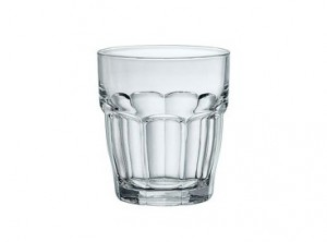 bicchiere vetro rock bar cl 20 bormioli