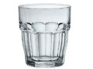 bicchiere vetro rock bar cl 39 bormioli