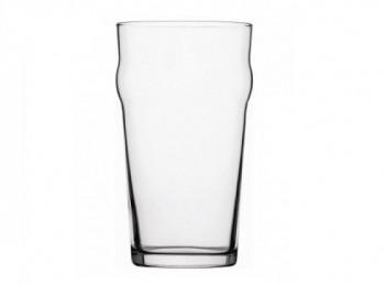 bicchiere birra vetro impilabile nonic