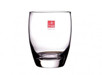 bicchiere vetro fiore eau bormioli