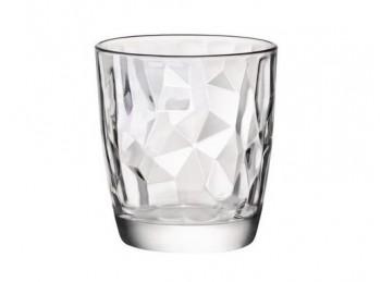 bicchiere vetro impilabile diamond bormioli