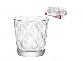 bicchiere vetro impilabile trasparente