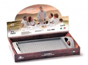 griglia bistecchiera antiaderente effetto pietra