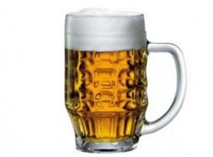 caraffa boccale birra vetro malles bormioli