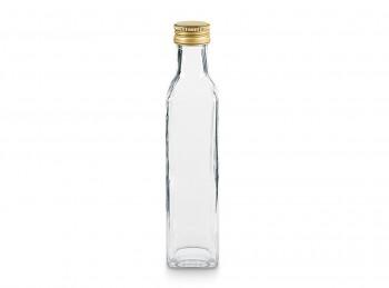 bottiglia vetro quadra marasca tappo a vite metallo