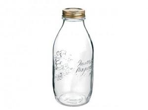 barattolo bottiglia conserve vetro quattro stagioni bormioli 1000