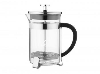 bricco caffettiera infuso te in vetro con filtro