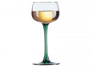 calice vino vin du rhin piede verde