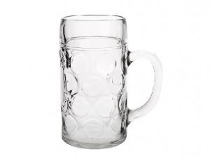 bicchiere caraffa con manico boccale birra vetro