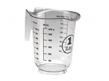 caraffa misura graduata plastica litro