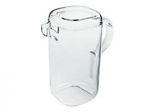 caraffa brocca plastica trasparente