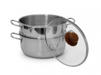 casseruola cottura cuoci vapore acciaio