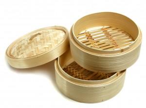 cestello cuoci verdure vapore legno bamboo cinese