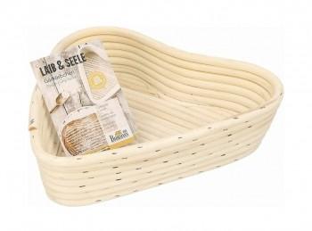 cestino in canna di bamboo per lievitazione pane