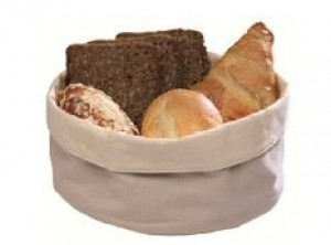 cestino pane cotone lavabile tondo