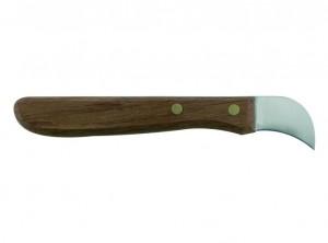 coltello castagne inox manico legno