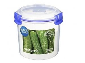 contenitore conserva sottaceti con cestello sistema