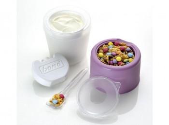 barattolo contenitore porta joghurt refrigerante