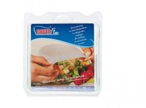 coperchio universale cuffietta elastica copri tutto cottura forno e micro silikomart