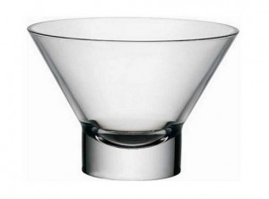 coppa gelato dessert semifreddo vetro trasparente bormioli