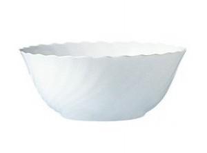 coppa insalata monoporzione vetro bianco arcopal