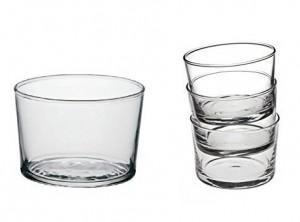 bicchiere coppetta vetro Bodega Bormioli aperitivi cocktail dessert