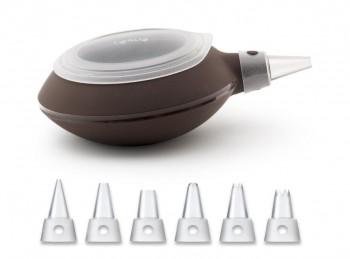 siringa saccapoche silicone sciogli cioccolata decomax lekue