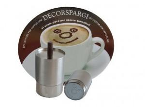 decora cappuccino bar disegno torta cacao ilsa
