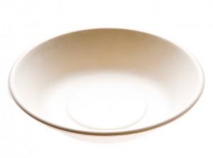 piatto fondo biodegradabile compostabile polpa di cellulosa ecozema