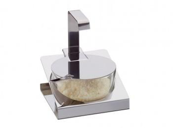 contenitore servi formaggio da tavolo acciaio inox eva