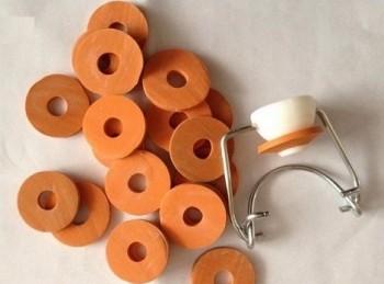 guarnizione gomma per tappo meccanico ermetico bottiglie vetro