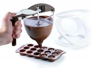 imbuto dosatore creme cioccolato silikomart