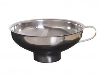 imbuto per invasare marmellata e conserve in acciaio inox