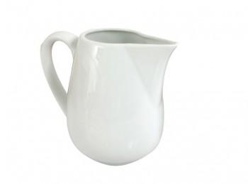 lattiera versa latte in porcellana bianca vesuvio