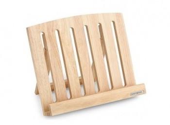 leggio porta ricettario cucina e tablet legno continenta