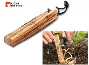 accendifuoco sopravvivenza outdoor light my fire legnetto resina