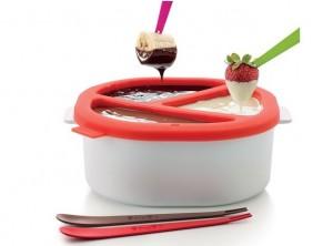 set fonduta cioccolato silicone Lekue