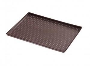 placca foglio silicone cuoci pizza surgelata micro forato lekue