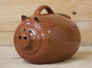 maialino ceramica cuoci arrosto