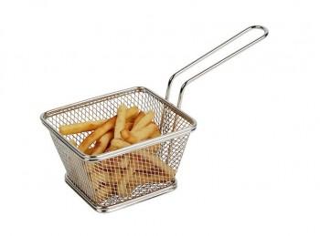 mini cestello rete inox servi in tavola fritto