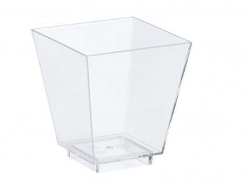 bicchiere mini monoporzione trasparente buffet finger food